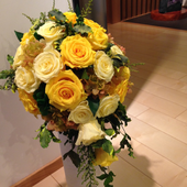 玄関に飾るお花福岡・新宮のプリザーブドフラワースクール【あんじぇりけ】